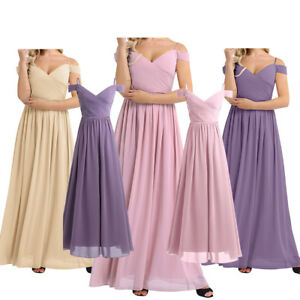 Ball-Gown-Long-Off-shoulder-Evening-Party-Maxi-Formal-Gown-Dresses-Bridesmaid