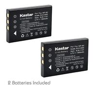2x Kastar Battery For Kodak Klic-5000 Easyshare Dx7630 Ls420 Ls433 Ls443 Ls633