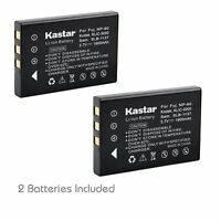 2x Kastar Battery For Kodak Klic-5000 Easyshare Ls743 Ls753 One Series One Zoom