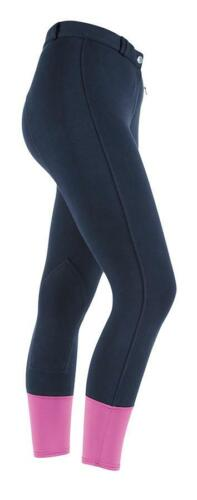 Ladies Shires Wessex Knitted Riding Breeches in Navy
