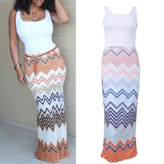New Sexy Women Summer Long Maxi BOHO Evening Party Dress Beach Dresses Sundress