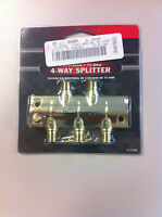 Radio Shack Cable Tv Bi-directional Divisor 4-way Splitter 15-2588 75-ohm