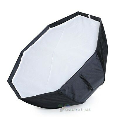 New Professional 80cm Octagon Umbrella Softbox Soft Box Reflector For Speedlite