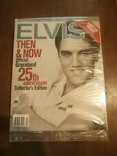 Elvis Then & Now Official Graceland 25th Anniversary Collector's Edition W/CD