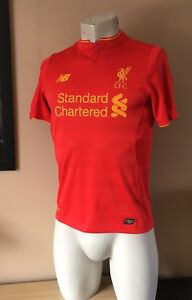 c1a53210368 Image is loading BOYS-LIVERPOOL-FOOTBALL-SHIRT-HOME-2016-2017-NEW-