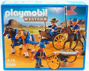 Citoyen Du Nord Canons Entraîneur Playmobil 5249 De `11 À Sudistes Fort Ovp Neuf
