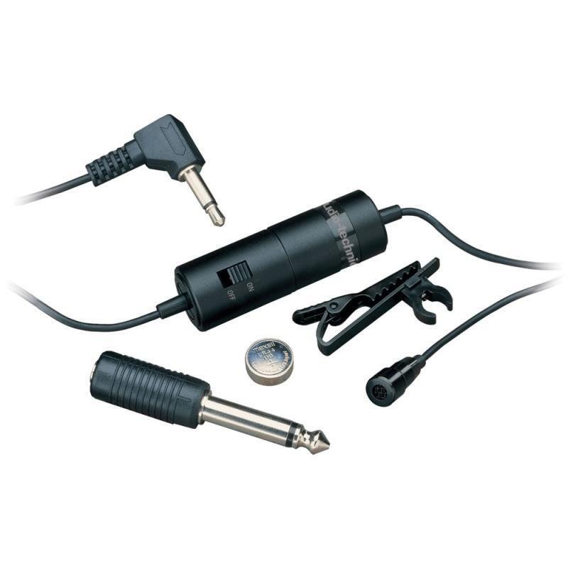 Audio-Micrófono Condensador Lavalier Omnidireccional Omnidireccional Omnidireccional Technica ATR3350 e34751