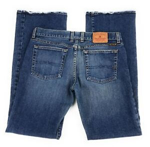 Lucky-Brand-Low-Rise-Bootcut-Stretch-Distressed-USA-Blue-Jeans-Women-039-s-8-29