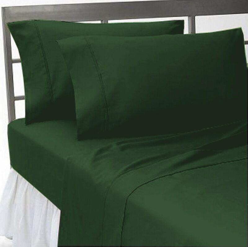 300TC Egyptian Cotton Quality Sheet Set KING HUNTER SOLID