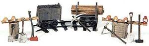 Durango-Press-HO-18-034-Gauge-Mining-Equipment-Deluxe-Detail-Set-New-Free-Shipping
