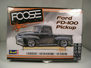 1956-FORD-FD-100-PICKUP-FOOSE-DESIGN-REVELL-1-25-SCALE-PLASTIC-MODEL-CAR-KIT