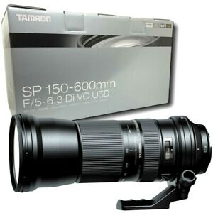 New TAMRON SP 150-600mm f5-6.3 Di VC USD Lens for Canon (A011)