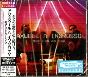 AXWELL-INGROSSO-MORE-THAN-YOU-KNOW-JAPAN-ONLY-CD-F56