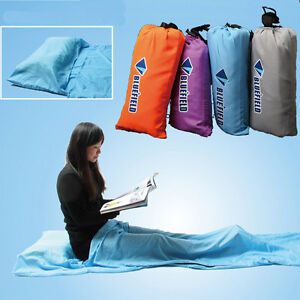 BlUEFIELD-Sleeping-Bag-Liner-Travel-Sleep-Sack-Sheet-Hiking-Camping-Tent-Mat-Pad