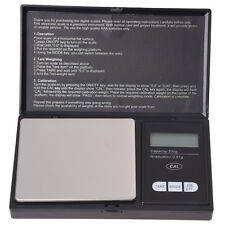 LCD BILANCIA BILANCINO DI PRECISIONE 0.01g/200g NERO M5G4
