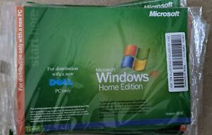 Sealed Microsoft Windows XP Home Edition SP2 Reinstallation Software for Dell PC