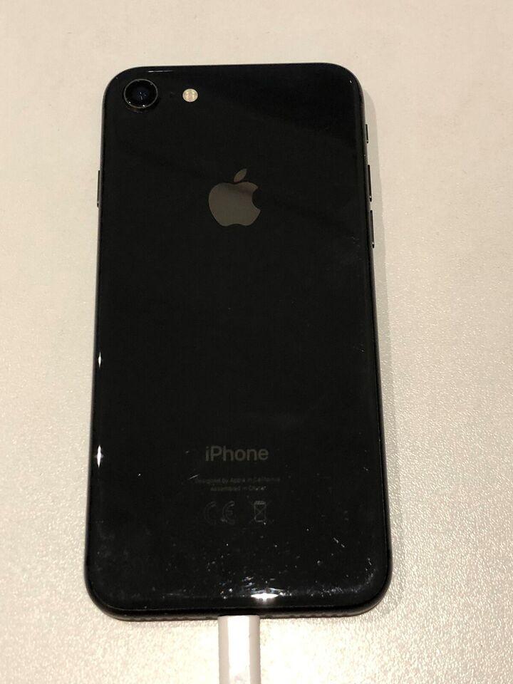 iPhone 8, 256 GB, sort