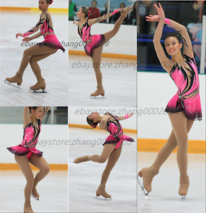 Ice skating dress.Competition Figure Skating  Baton Twirling  Tap Dance Costume