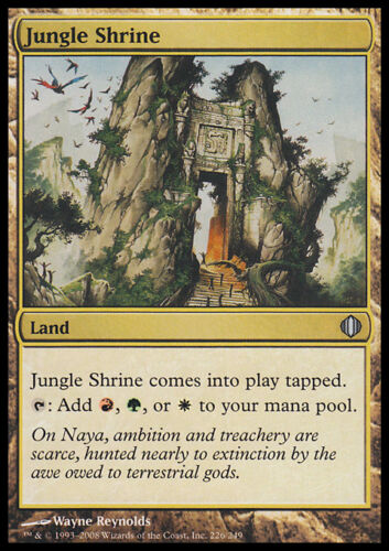 MAGIC MTG JUNGLE SHRINE ASIAN ALA SANTUARIO NELLA GIUNGLA