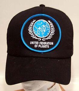 Details about STAR TREK UFPl Logo Baseball Trucker Cap Hat w Patch 621346c9e03