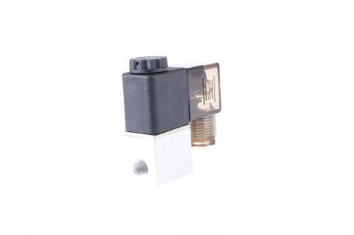 "2V025-06 G1//8/"" DC12V 2 forma 2 posición N//c Solenoide Válvula De Aire Neumático"