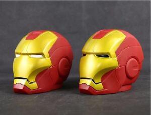 CASCO-IRON-MAN-hucha-14-cm-Piggy-Bank-Iron-Man-helmet-PVC