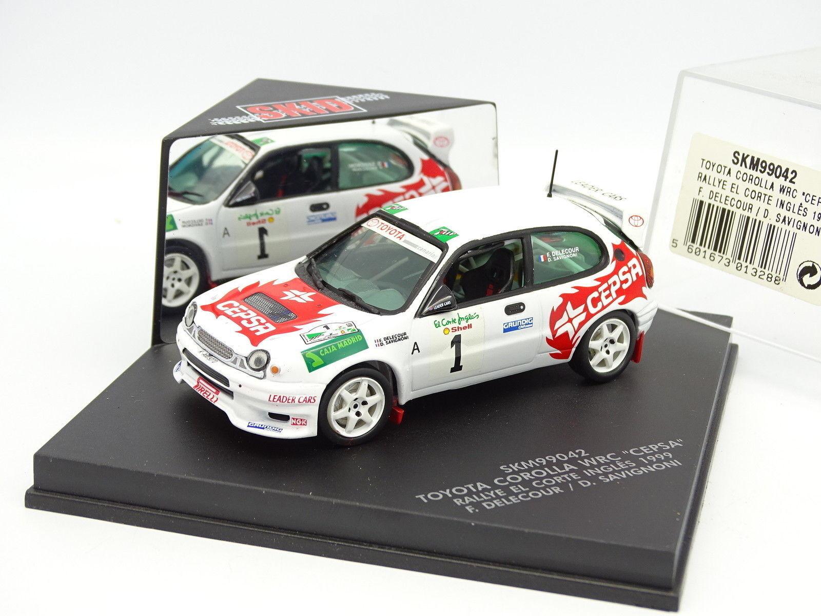 Skid 1 43 - Toyota Corlla WRC Cepsa Rallye El Corte Ingles 1999 Delecour