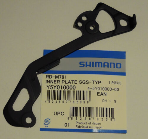 XT Gabbia interna//Inner plate inside guide Shimano x RD-M786//M780//M781 SGS-GS