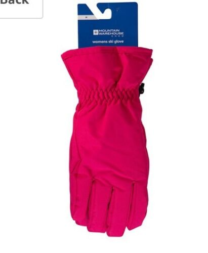 2# Mountain Warehouse Womens Ski Glove Size SP RRP22.99