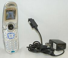 LG VX4650 Verizon Wireless Flip Cell Phone Front-Speakerphone SILVER No-Contract