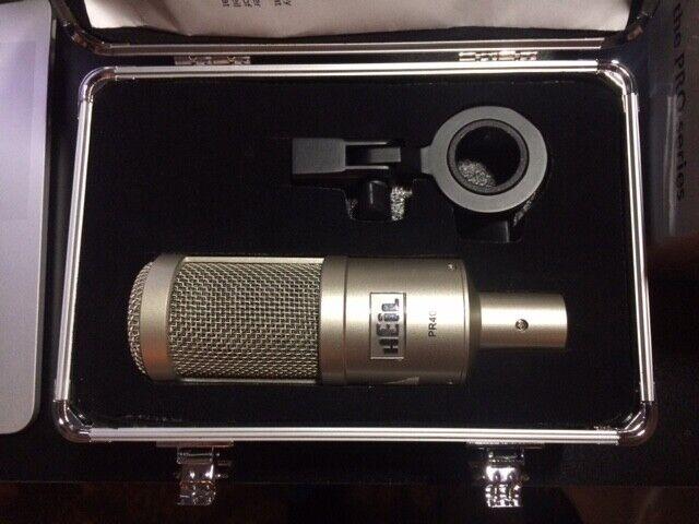 Heil Sound PR 40 Pro Series Wide Frequency Condenser Microphone + Aluminum Case