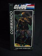 "Sideshow Collectible GIJoe Snake Eyes Commando 12"" Figure V1"