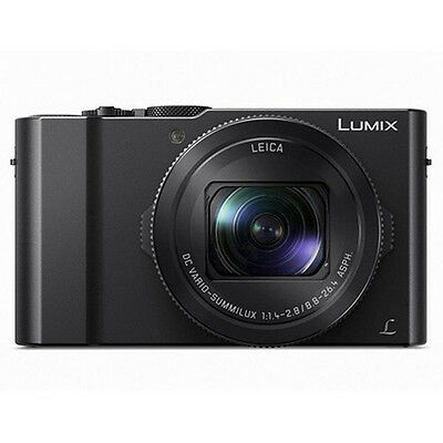 NEW BOXED PANASONIC LUMIX DMC-LX10 / LX15 DIGITAL CAMERA / BLACK / PAL