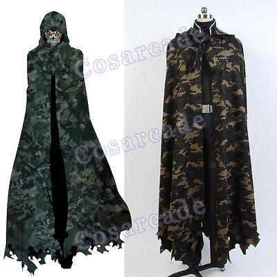 Sword Art Online Death Gun Sterben Coat/Mantle SAO Cosplay Costume/Gale OL GGO