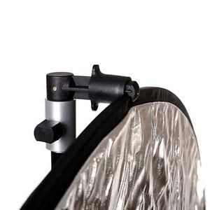 Photography Studio Reflector Holder Clip Video Lighting Backdrop Clamp