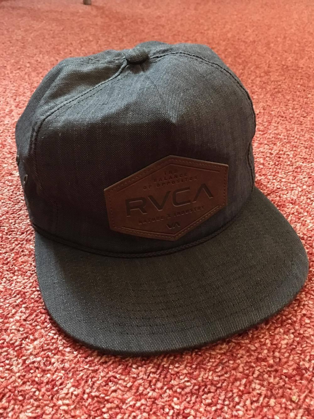 RVCA Snapback Cap Schwarz !