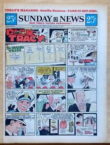 New-York-Sunday-News-6-page-color-comic-section-Mary-Perkins-Jan-17-1971