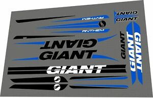 Details about GIANT Anthem X Advanced 29 2011 Frame Sticker / Decal Set