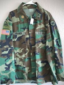 Camisa Marpat Woodland BDU