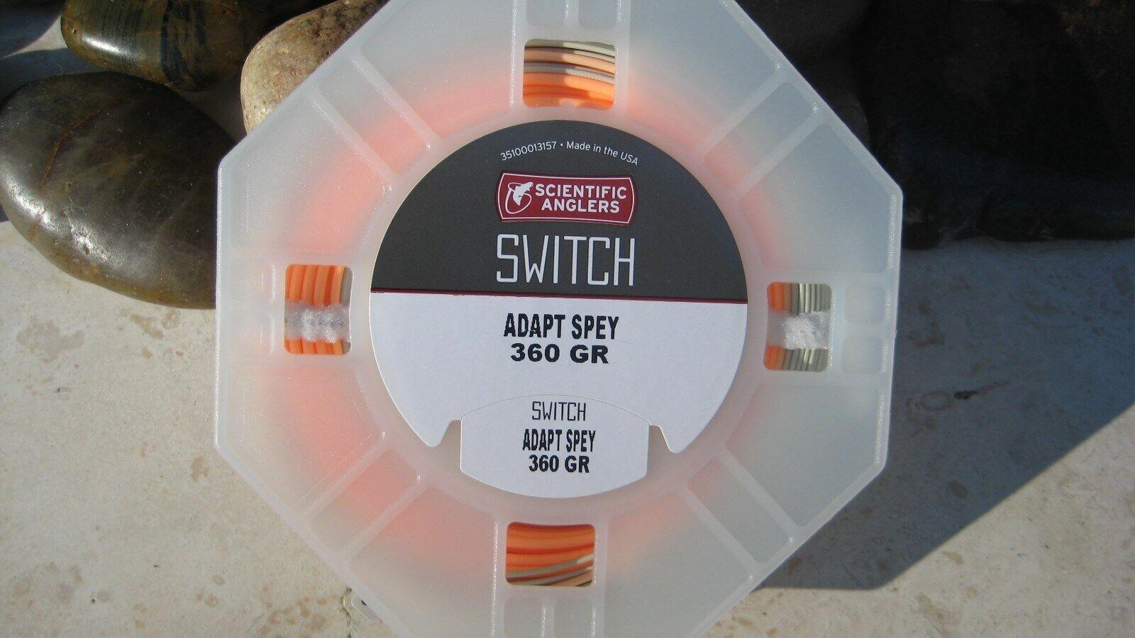 SA Adapt Short Head Switch Line, 360 GR F, Willow Peach, NIB