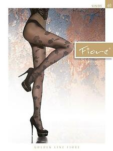Beautiful-Transparent-Patterned-Tights-40-Denier-by-Fiore-034-SINDY-034