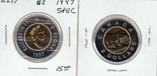 W257 CANADA $2.00 COIN TOONIE 1997 SPECIMEN FROM A ROYAL CANADIAN MINT SET
