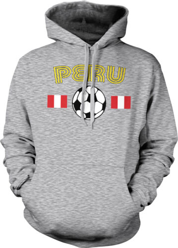 Peru South America Peruvian National Soccer Team Los Incas Hoodie Pullover