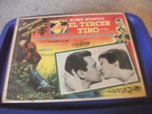 """1955 ALFRED HITCHCOCK il problema con Harry 12 x 16"""" Messicano Lobby Card"""