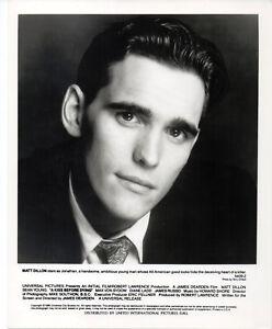 Details about KISS BEFORE DYING 1991 Matt Dillon TERRY O'NEILL 10x8 PORTRAIT