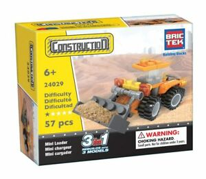 Mini Loader Bric Tek Construction Block Building Brick Toy 3