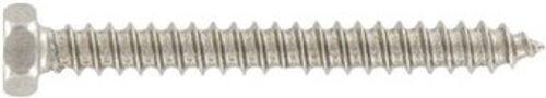 DIN 7976 Sechskant-Blechschrauben Form C mit Spitze Edelstahl A2 diverse Maße