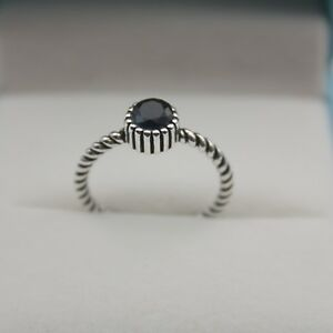 New-Design-Pure-S925-Sterling-Silver-amp-Zircon-5-5mm-Wide-Women-Unique-Ring