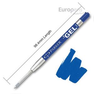 Parker-Quink-Gel-Jotter-Ballpoint-Refill-BLUE-Discounted-quantities