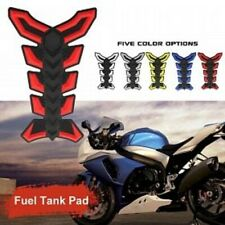 Ninja Kanji Lettering Motorcycle Sportbike 3D Gel Gas Tank Pad White